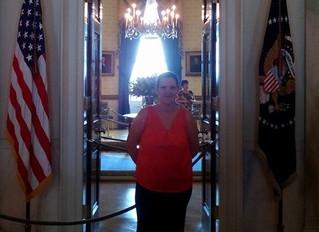 Anja Fahlenkamp at White House for President's Interfaith Challenge