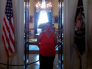 Anja Fahlenkamp at White House for President's Interfaith Challenge