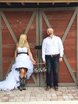 Bride and Groom photo shoot