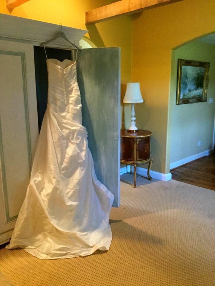 bridal dressing area