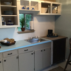 The Dinghy Galley Kitchen