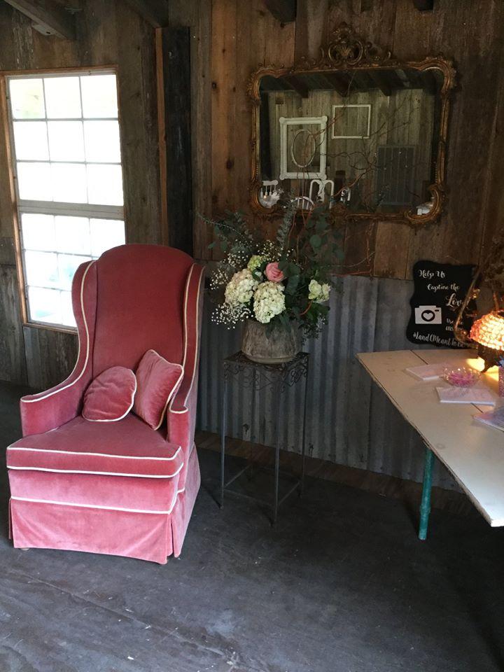 Antique Chair & Decor