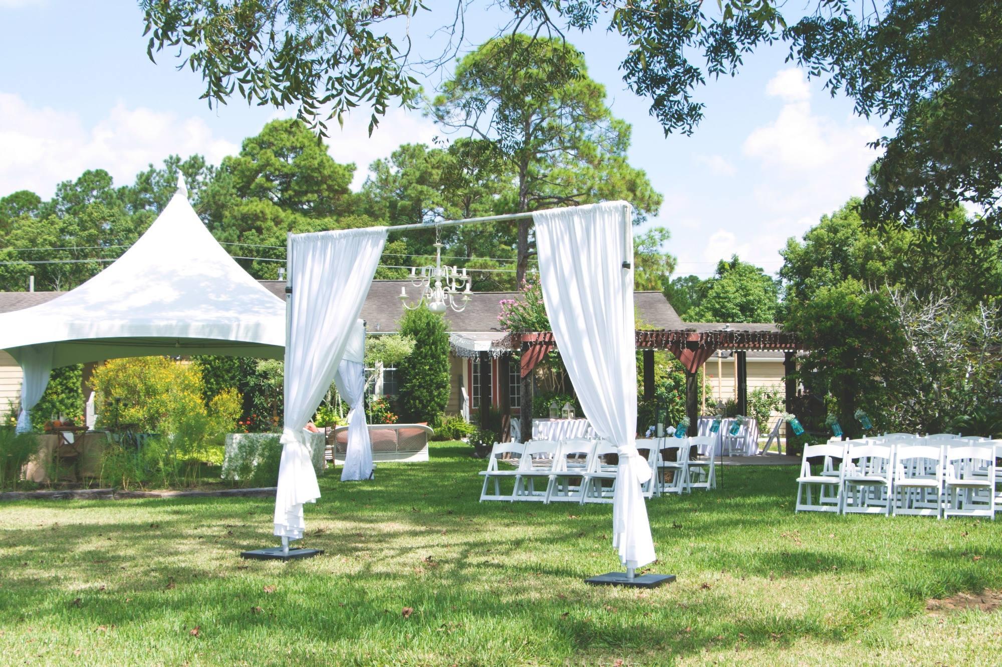Outdoor Wedding/Reception Setup