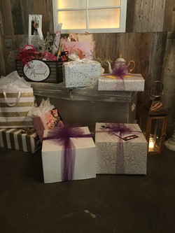 Gifts for the Bride and Groom!