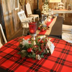 Family Dinner in the Barn