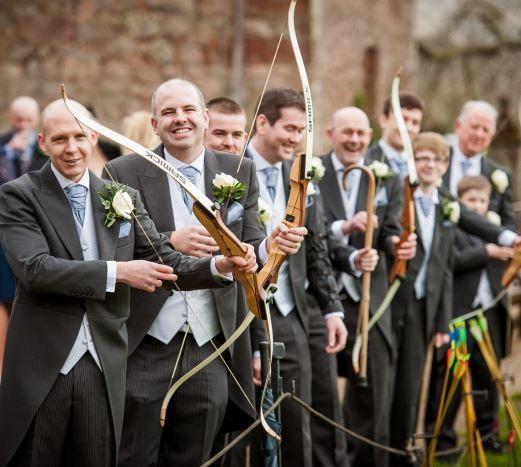 wedding archery