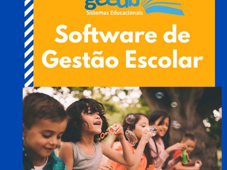 O que é um software gestão escolar?