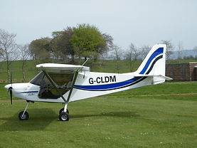 skyranger microlight 3 axis fixed wing flying lesson gift voucher balado airfield kinross scotland perth perthshire