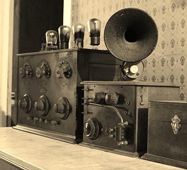 récepteur années 1910