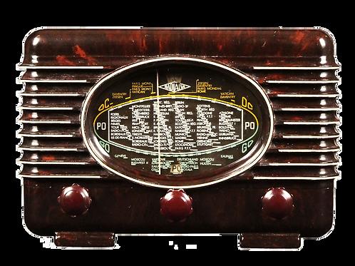 """Radio vintage Bluetooth """"Radialva groom 41"""""""