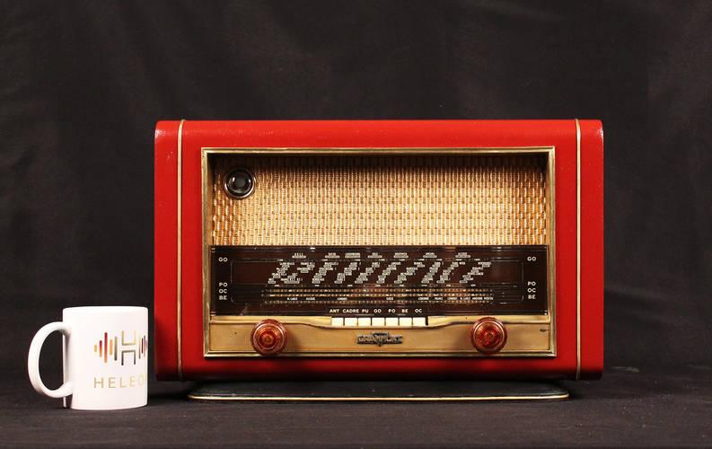 modernized vintage radio