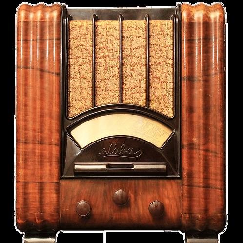 """Radio vintage Bluetooth """"SABA 630 WL"""""""