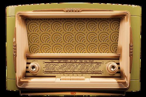 Radio vintage bluetooth - Gody