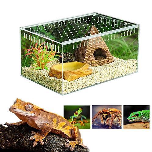 Acrylic Transparent Sliding Cover Insect Terrarium