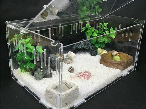 Crawler Box Acrylic Insect or Reptile Terrarium