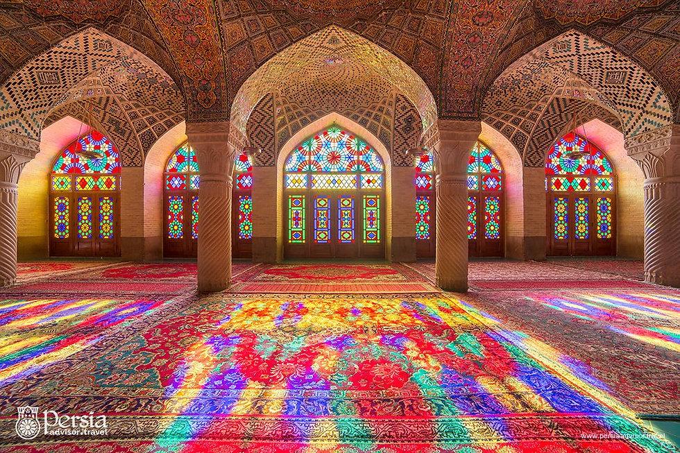 Iranian-Mosque-Nasir-Al-Mulk-Mosque-Shir