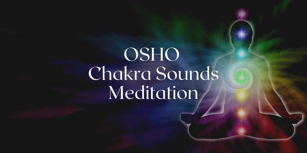 Kostenlose Online Meditation  - Heute OSHO Chakra Sounds Meditation