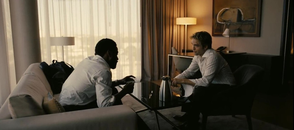 Tenet - John David Washington - Robert Pattinson