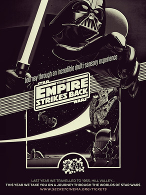 Secret Cinema: Star Wars: Empire Strikes Back *SPOILER ALERT*