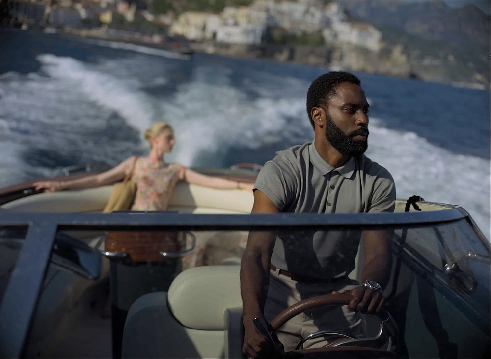 Tenet - John David Washington - Elizabeth Debicki