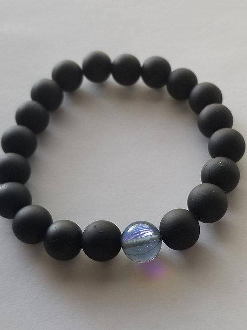 Be the Light -Black Bracelet
