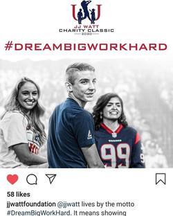 Dream Big Work Hard Winners