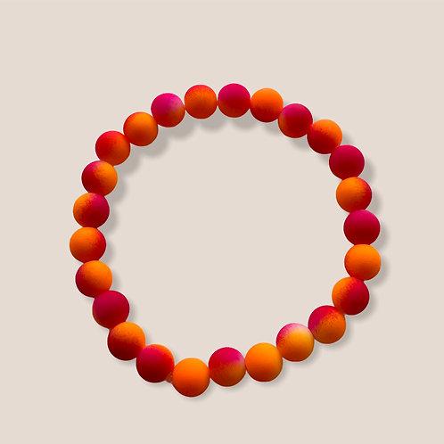Tie Dyed- Orange/Pink