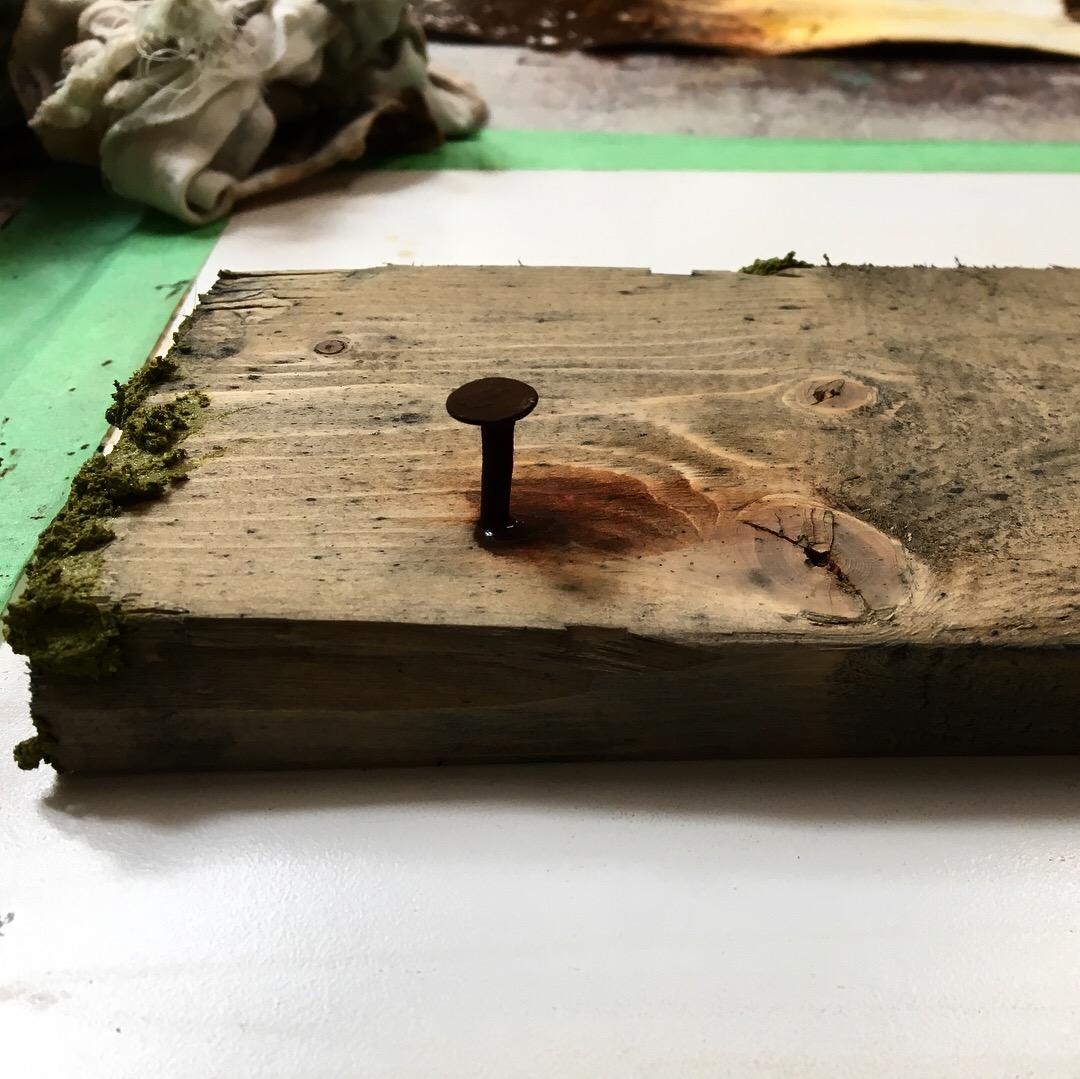 Aged Wood Sample