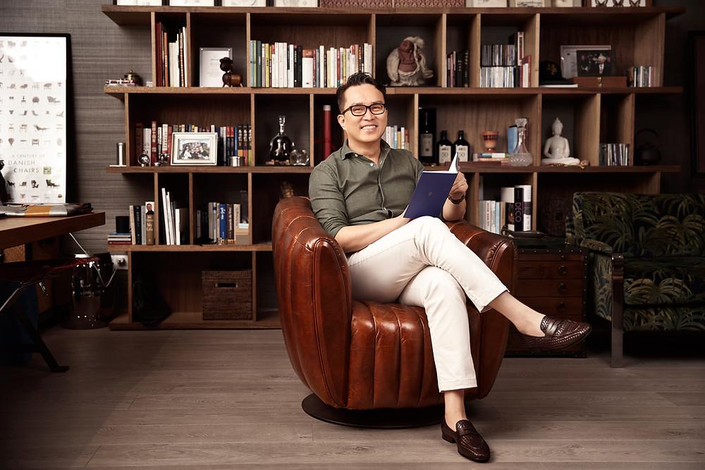 Interior designer portrait Shanghai China