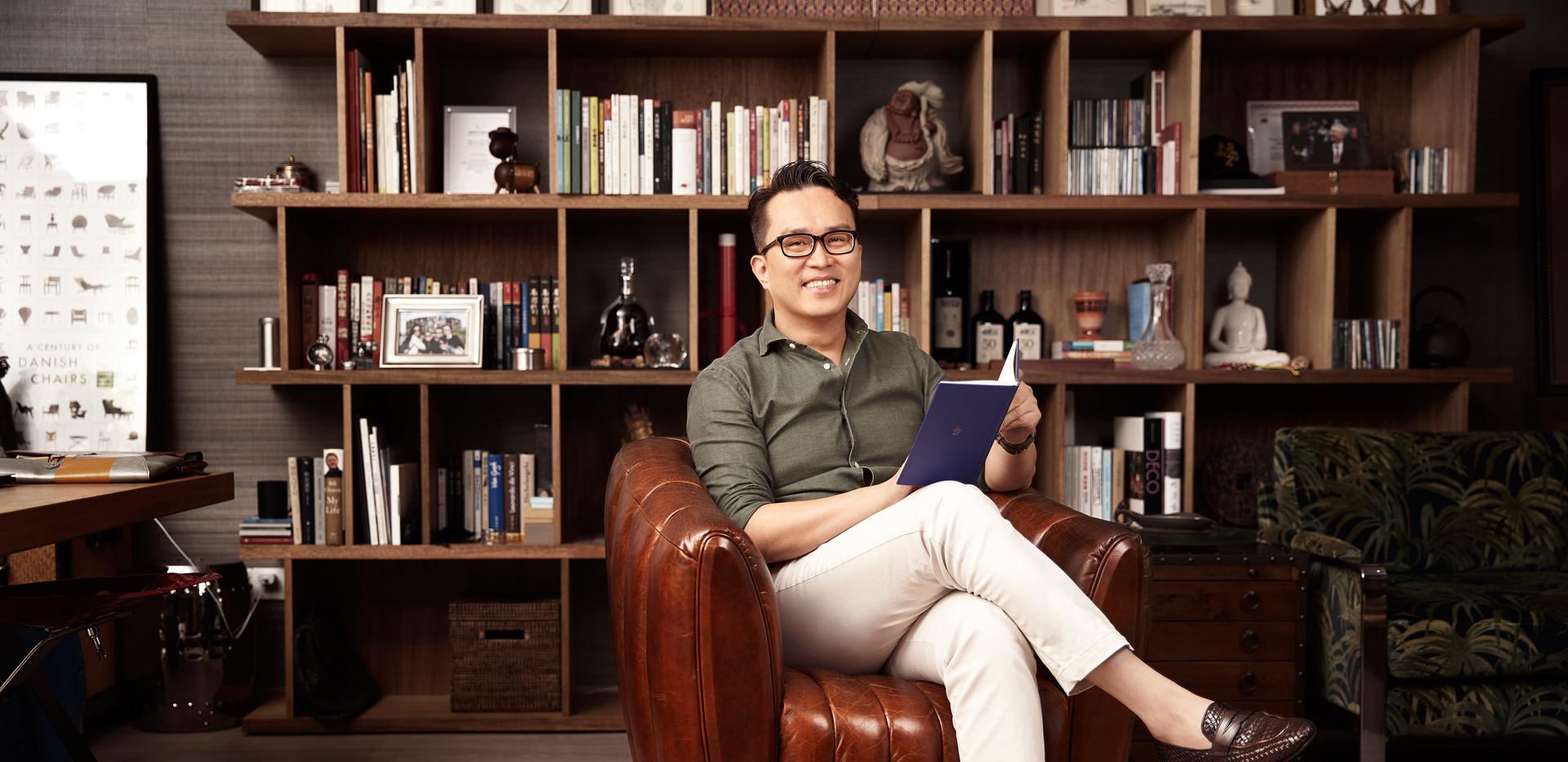 Interior designer portrait office Shangh