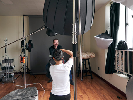Why I choose to be a headshot photographer