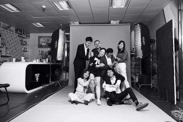 fun team photos in Shanghai