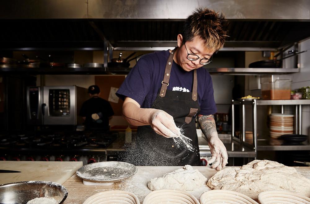 shanghai creative chef portrait