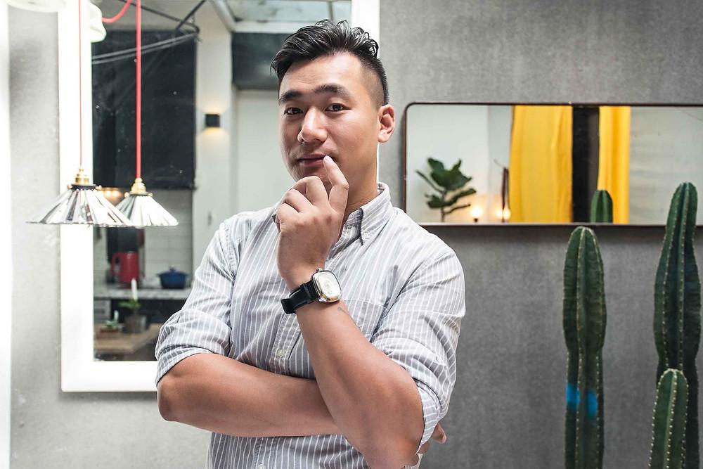 Shanghai business portrait headshot professional interior designer