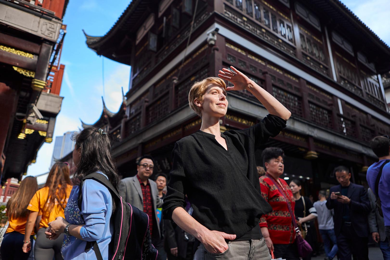 shanghai headshot on location