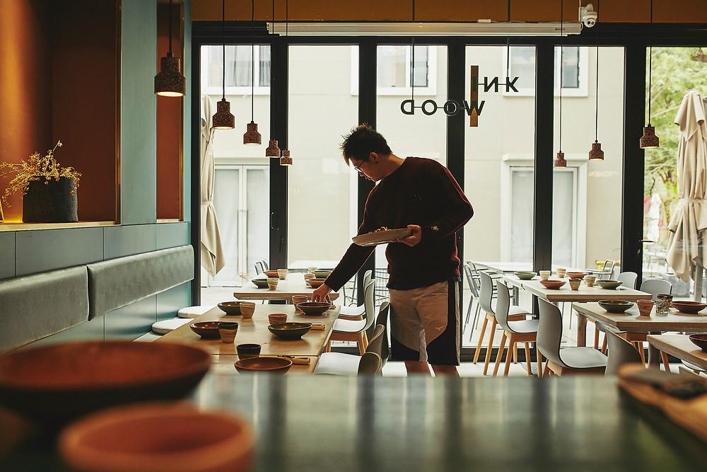 Shanghai chef portrait photo