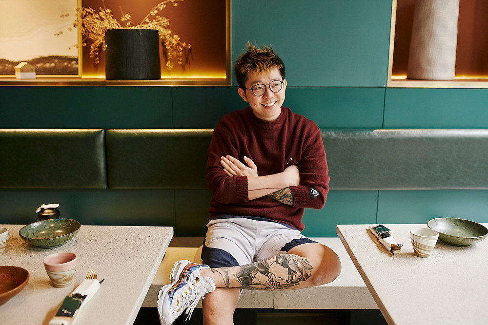 Shanghai chef portrait photography
