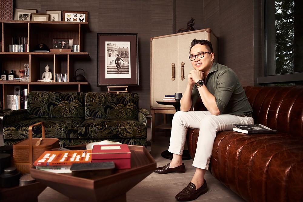 Interior designer portrait Shanghai