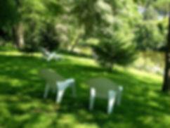 L'Hérault vu du parc