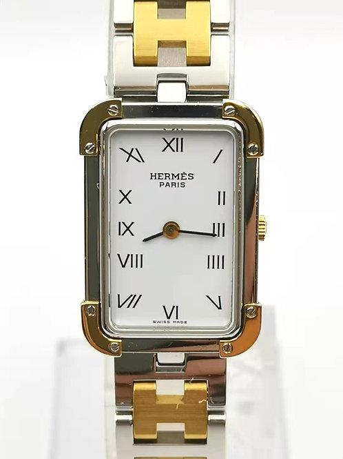 HERMES  エルメス  クロアジュール コンビ 時計