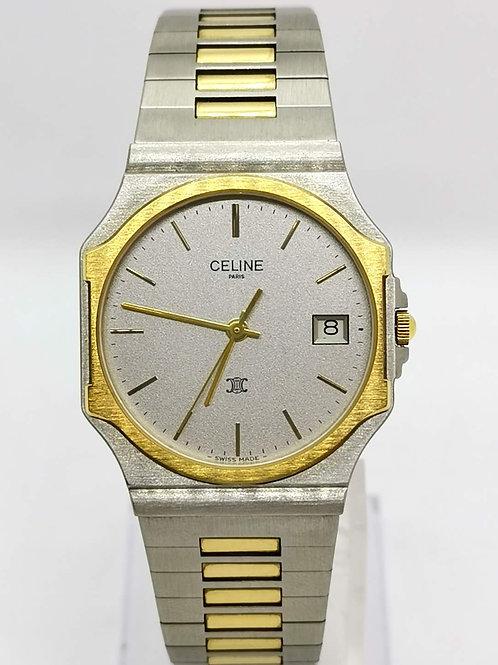 CELINE セリーヌ コンビ  デイト 1499 腕時計