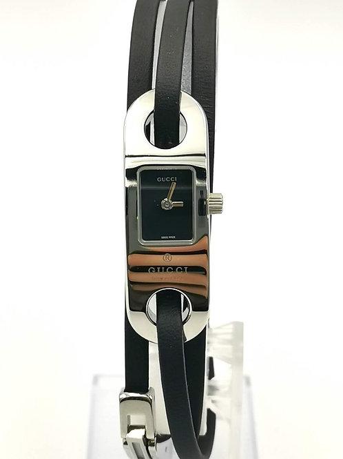 GUCCI  グッチ  6100L レザーブレス ウォッチ  時計