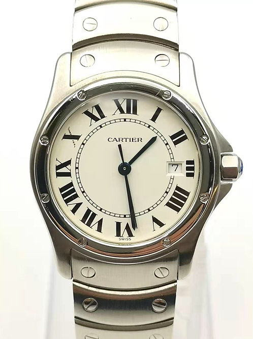 Cartier  カルティエ 1561 1  サントスクーガ