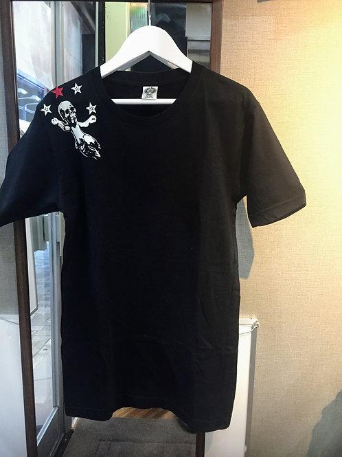 CHROME HEARTS ショルダースカルバックプリントTシャツ S