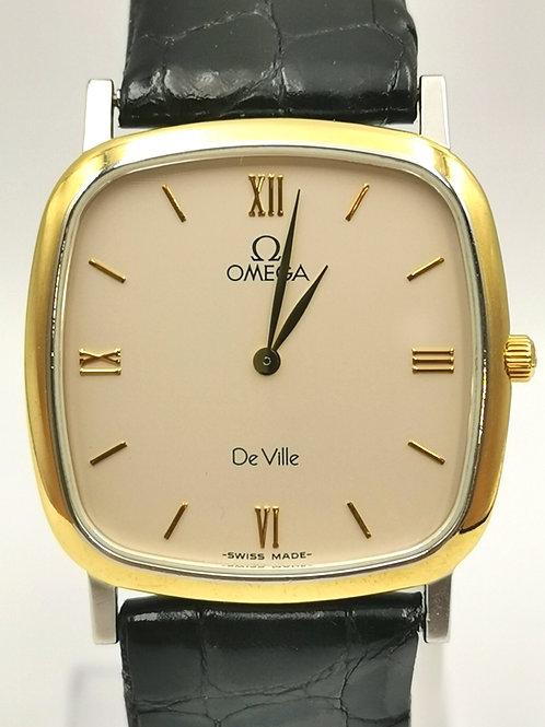 OMEGA  De Ville  スクエア ローマ コンビ 時計