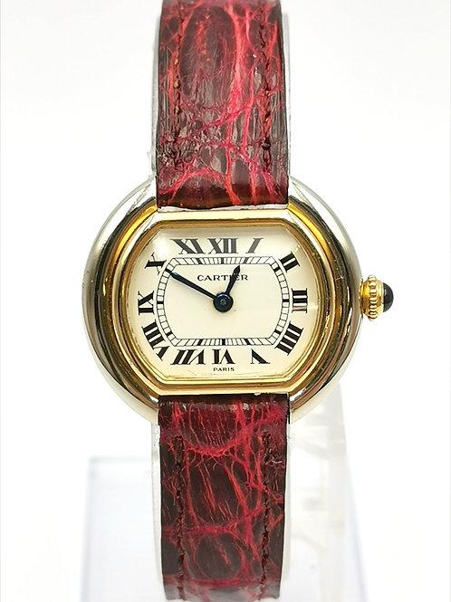 Cartier  カルティエ  K18YG/K18WG  エリプス  時計