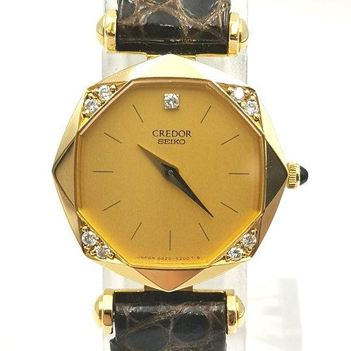 CREDOR  8420-5160  K18YG ダイヤ
