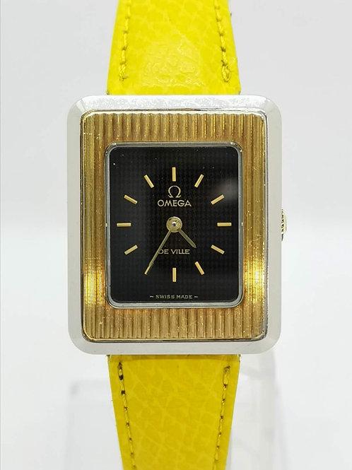 OMEGA  オメガ  De Ville レクタンギュラー YG\SS  腕時計