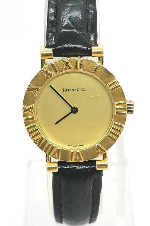 Tiffany & Co.  ティファニー K18YG アトラス 腕時計