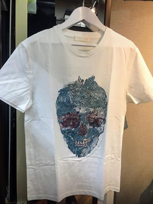 ALEXANDER MQUEEN スカルバードTシャツ xs